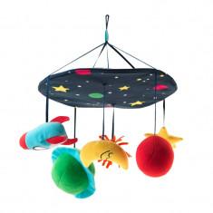 Carusel pentru patut, diametru 25 cm, Multicolor