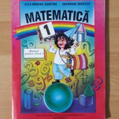 manual matematica clasa I 1997