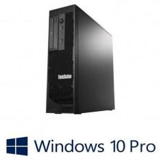 Workstation Refurbished Lenovo ThinkStation C30, 2 Xeon E5-2630, Win 10 Pro