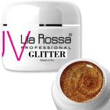 Gel Color cu particule Sclipici Lila Rossa Glitter GeL 5g E2408