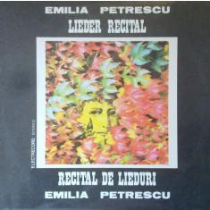 Emilia Petrescu - Recital de lieduri (Vinil)