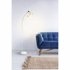 Lampadar Anita fier alba