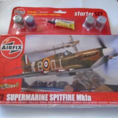 bnk jc Supermarine Spitfire MkIa - Airfix - 1/72