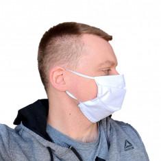 Mască textilă 100% bumbac + ion de argint