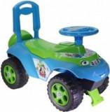 Masinuta de Impins Music MyKids Fun - Verde/Albastru
