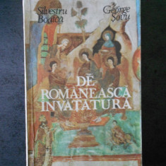 SILVESTRU BOATCA - DE ROMANESCA INVATATURA