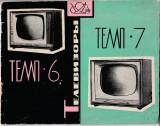Schema de functionare si lista pieselor televizor Temp 6 si 7_anii 60-70
