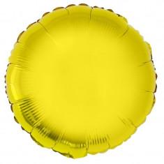 Balon folie 28 cm, culoare metalizata, forma rotunda