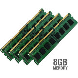 GARANTIE si FACTURA! Memorie KIT 8GB DDR3 (4 x 2GB) 1333MHz Dual Channel 10600U, DDR 3, 8 GB