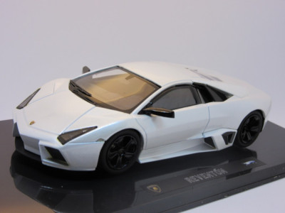 Macheta Lamborghini Reventon Hotwheels Elite 1:43 foto