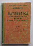 Mircea Ganga - Manual Matematica Clasa a XII-a Profil M1 Elemente De Analiza