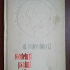 Rondeluri, psalmi, noptile- Al. Macedonski