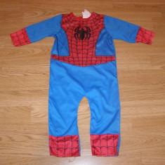 Costum carnaval serbare spiderman pentru copii de 1-2 ani 12-18 luni, Din imagine