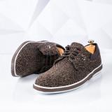 Pantofi casual barbati maro Baryle