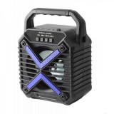 Boxa Mini Portabila cu Acumulator Bluetooth USB TF Card Radio CHV402