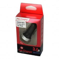 Incarcator telefon USB 2.1A si voltmetru COD: PG236 ManiaCars