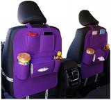 Cumpara ieftin Set Suport auto textil de depozitare pentru scaunul masini,2buc MOV, Pentru scaun